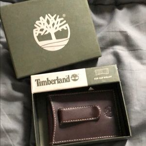 Timberland clip wallet NWT